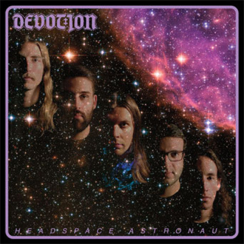 "CKUD05-1 Devotion ""Headspace Astronaut"" LP  Album Artwork"