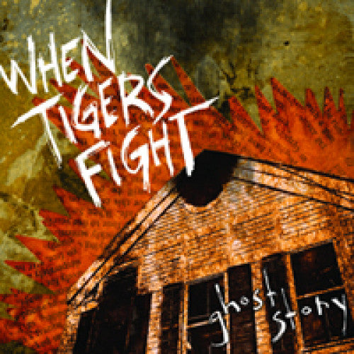 "CLCR003-1 When Tigers Fight ""Ghost Story"" LP Album Artwork"
