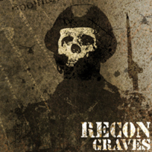 "CLCR004-2 Recon ""Graves"" CD Album Artwork"