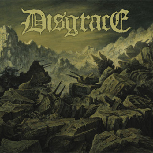 "CLCR025-1 Disgrace / Harness ""Split"" 7"" Album Artwork"