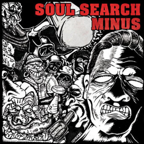 "CLCR032-1 Minus / Soul Search ""Split"" 7"" Album Artwork"