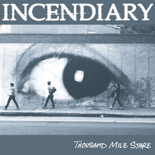 "CLCR050 Incendiary ""Thousand Mile Stare"" LP/CD Album Artwork"
