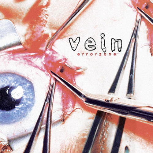 "CLCR059 Vein ""Errorzone"" LP/CD Album Artwork"