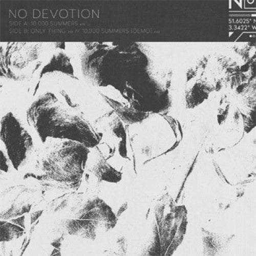 "CLCT1006-1 No Devotion ""10,000 Summers"" 12""ep Album Artwork"