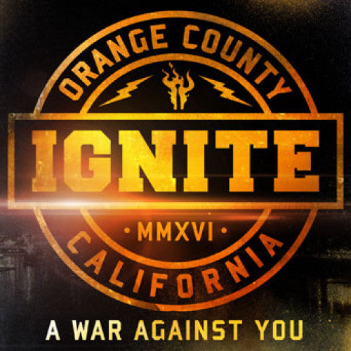 "CM7505-2 Ignite ""A War Against You"" CD Album Artwork"
