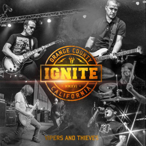"CM8935-1 Ignite ""Vipers And Thieves b/w Falu (acoustic version)"" 7"" Album Artwork"