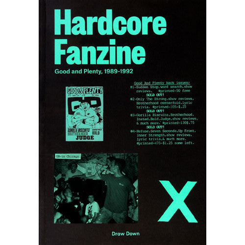 "DDB1901-B Christopher Sleboda / Kathleen Sleboda ""Hardcore Fanzine: Good And Plenty, 1989-1992"" -  Book"