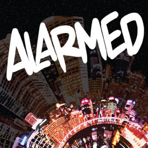 "DETR005-1 Alarmed ""s/t"" 7"" Album Artwork"