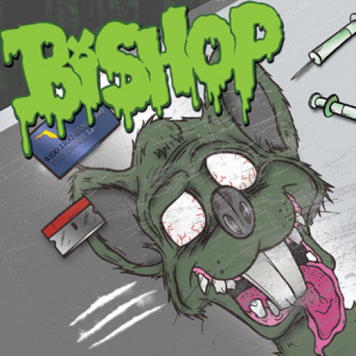 "DETR007-1 Bishop ""The Drugs LP"" LP Album Artwork"