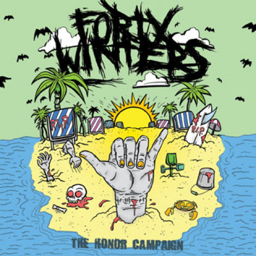 "DETR008-2 Forty Winters ""The Honor Campaign"" CD Album Artwork"