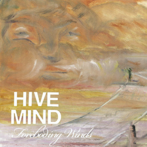"DETR010-1 Hivemind ""Foreboding Winds"" 7"" Album Artwork"