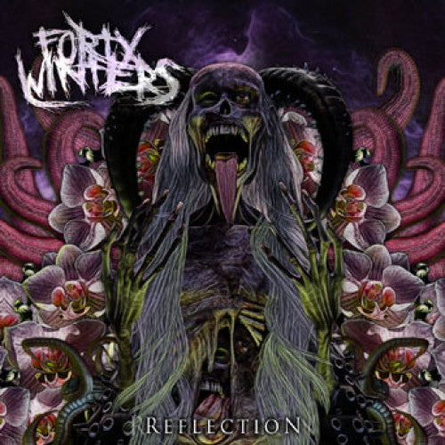 "DETR011-2 Forty Winters ""Reflection"" CD Album Artwork"