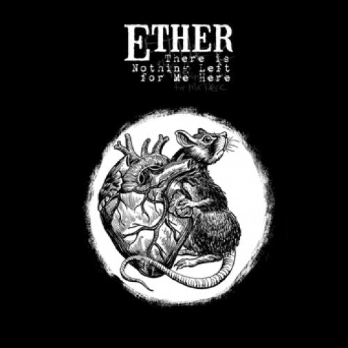 "DETR024-1 Ether ""There Is Nothing Left For Me Here"" LP Album Artwork"
