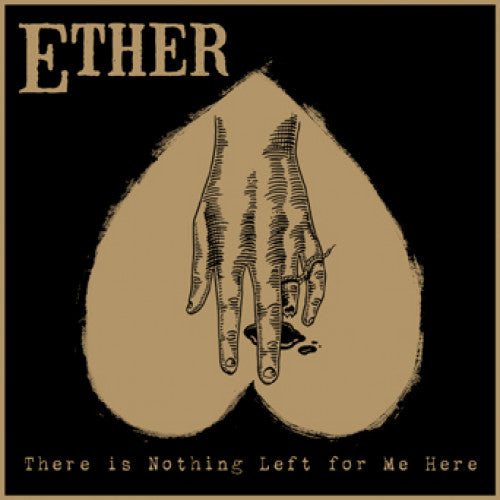 "DETR025-2 Ether ""There Is Nothing Left For Me"" CD Album Artwork"