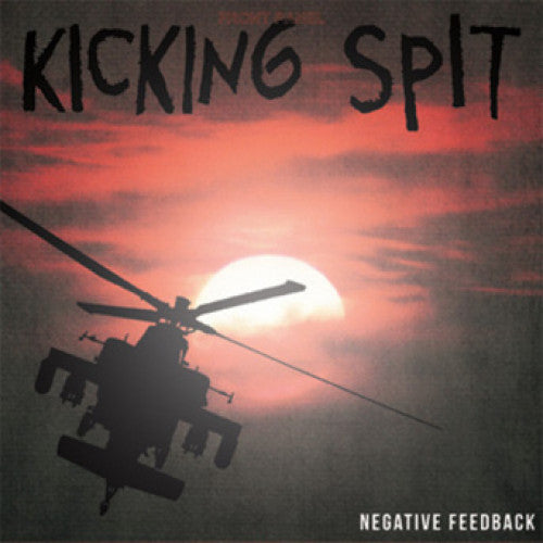 "DGIO71-1 Kicking Spit ""Negative Feedback"" LP Album Artwork"
