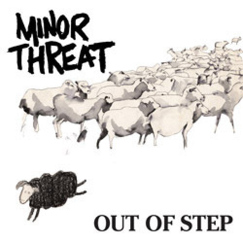 "DIS010-1 Minor Threat ""Out Of Step"" 12""ep Album Artwork"
