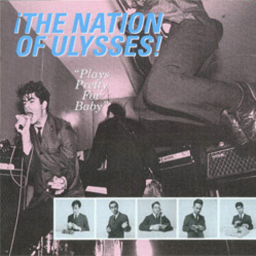 "DIS071-1 Nation Of Ulysses ""Plays Pretty For Baby"" LP Album Artwork"