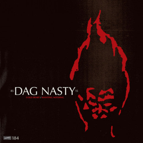 "DIS184-1 Dag Nasty ""Cold Heart b/w Wanting Nothing"" 7"" Album Artwork"