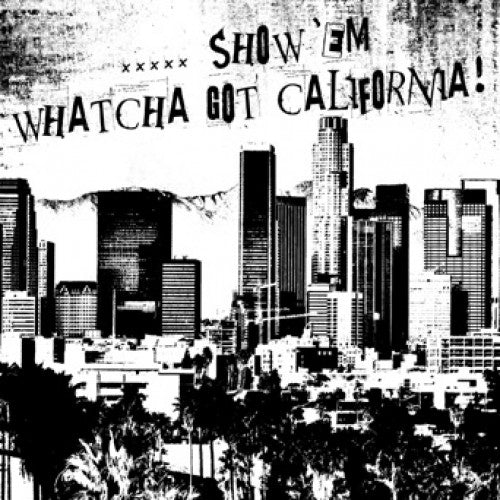 "DMIR03-2 V/A "".....Show 'Em Whatcha Got California!"" CD Album Artwork"