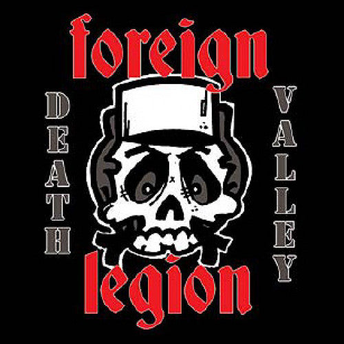 "DMIR04-2 Foreign Legion ""Death Valley"" CD Album Artwork"