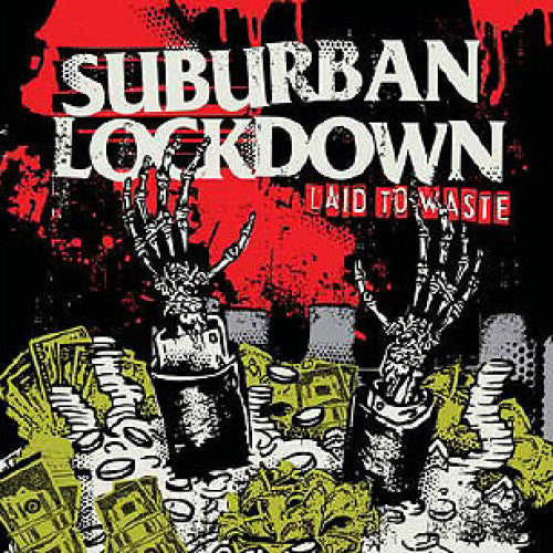 "DMIR07-2 Suburban Lockdown ""Laid To Waste"" CD Album Artwork"