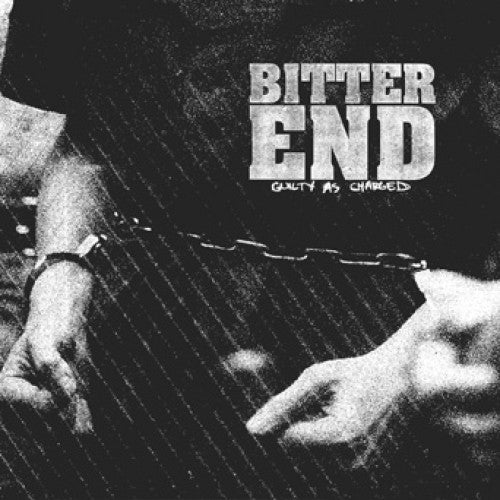 "DWI106-2 Bitter End ""Guilty As Charged"" CD Album Artwork"