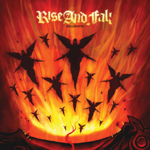 "DWI126-1 Rise And Fall ""Hellmouth"" LP  Album Artwork"