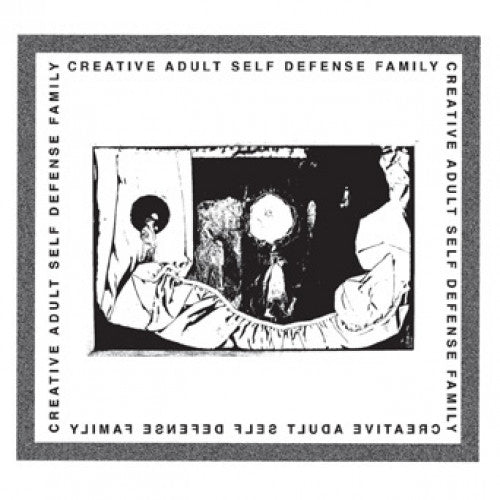 "DWI167-1 Self Defense Family / Creative Adult ""Split"" 7"" Album Artwork"
