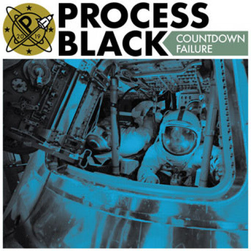"DWI214-1 Process Black ""Countdown Failure"" 7"" Album Artwork"