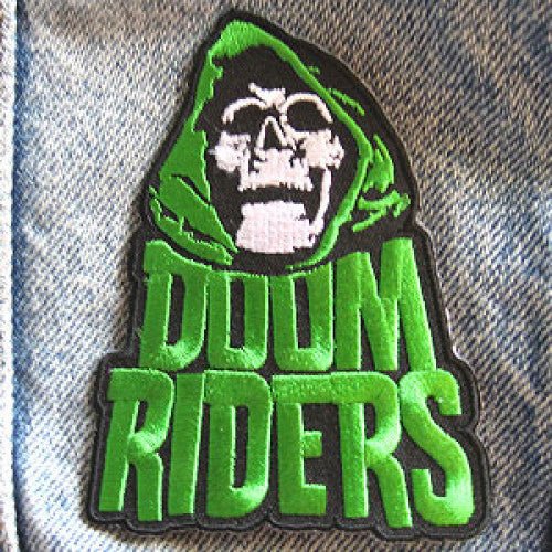 "DWIPAT10 Doomriders ""Green Reaper"" -  Embroidered Patch"