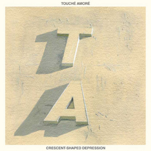 "DWISV10-1 Touche Amore / Title Fight ""Split"" 7"" Album Artwork"