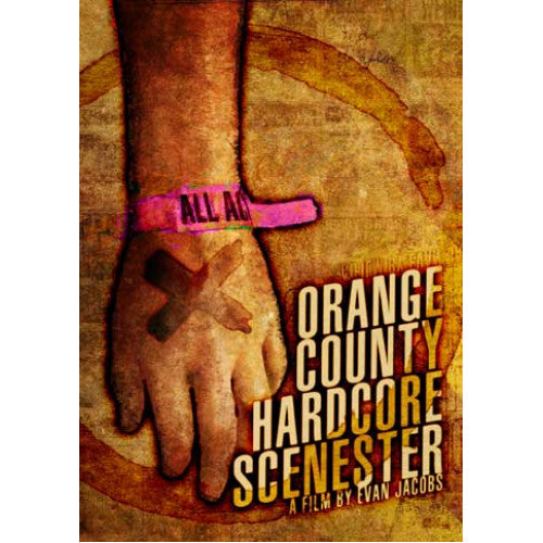 "EJ10-DVD Evan Jacobs ""Orange County Hardcore Scenester"" -  DVD"