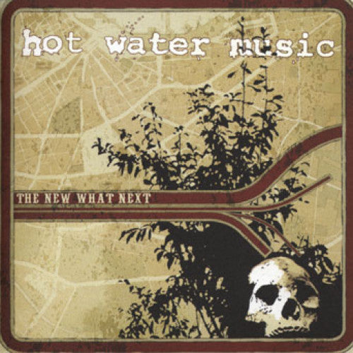 "EPI6722-1 Hot Water Music ""The New What Next"" LP Album Artwork"