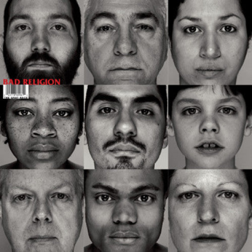 "EPI6996-1 Bad Religion ""The Gray Race Remastered Edition"" LP Album Artwork"