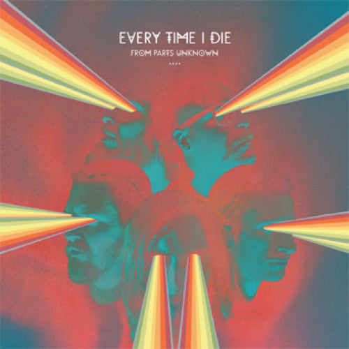 "EPI7328-1 Every Time I Die ""From Parts Unknown"" LP Album Artwork"