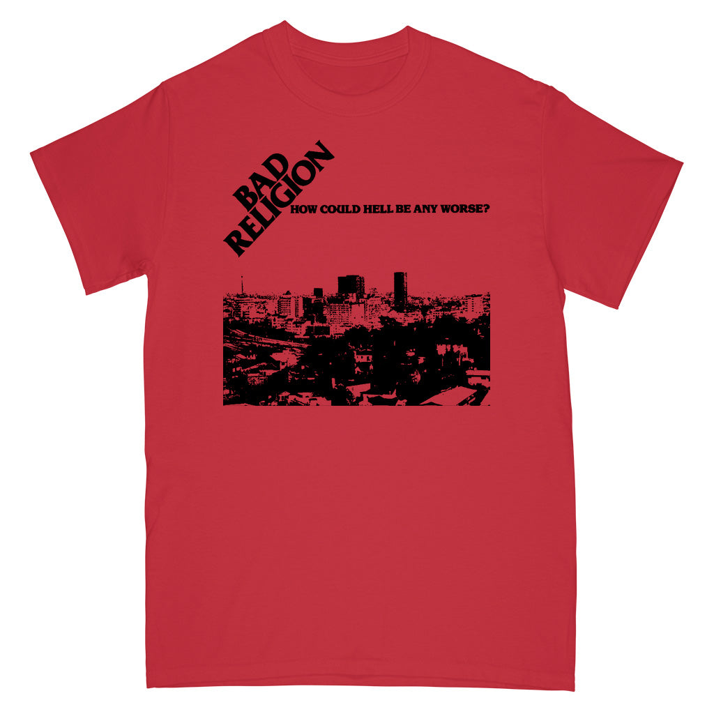 "EPISS999S Bad Religion ""How Could Hell Be Any Worse?"" -  T-Shirt Front"