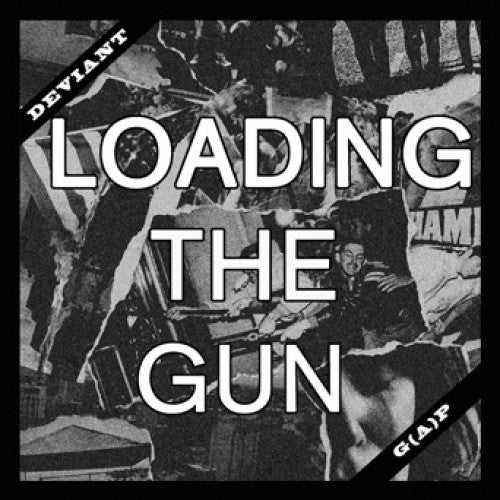 "EPM001-1 Deviant ""Loading The Gun"" 7"" Album Artwork"