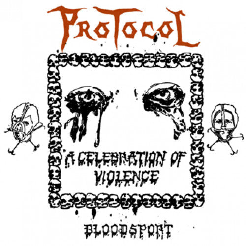 "EPM003-1 Protocol ""Bloodsport"" 12""ep Album Artwork"
