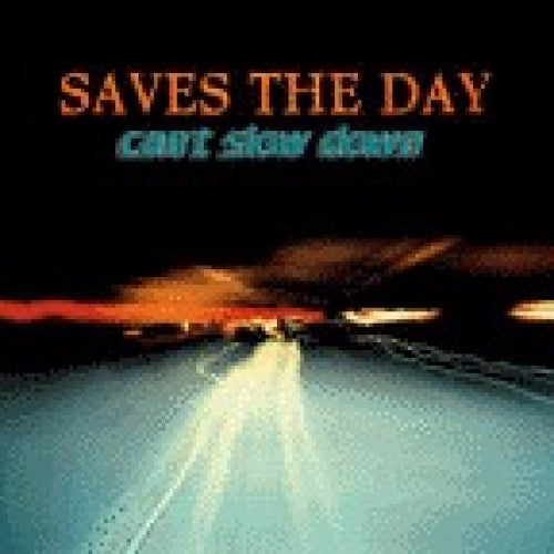 "EVR042-2 Saves The Day ""Can't Slow Down"" CD Album Artwork"