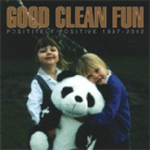 "EVR074-2 Good Clean Fun ""Positively Positive 1998 - 2002"" CD Album Artwork"