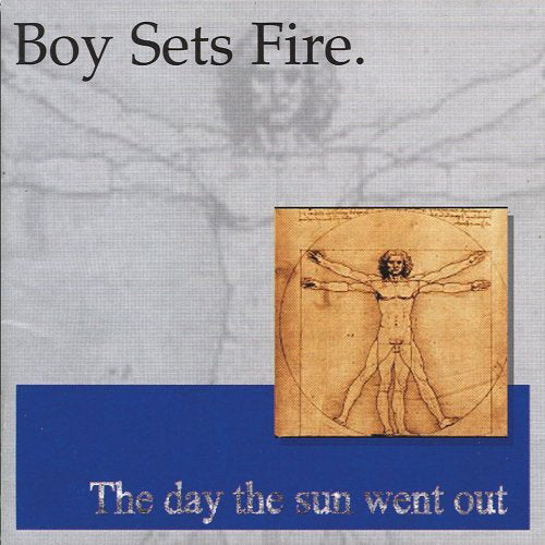 "EVR119-2 Boysetsfire ""The Day The Sun Went Out"" CD Album Artwork"