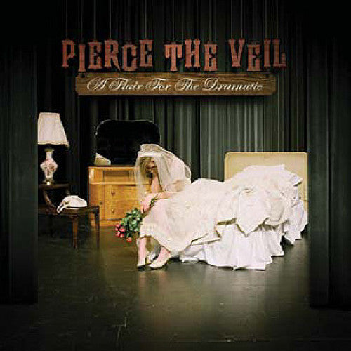 "EVR132 Pierce The Veil ""A Flair For The Dramatic"" LP/CD Album Artwork"
