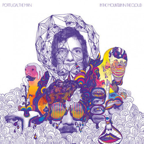 "EVR211-1 Portugal. The Man ""In The Mountain In The Cloud"" LP Album Artwork"