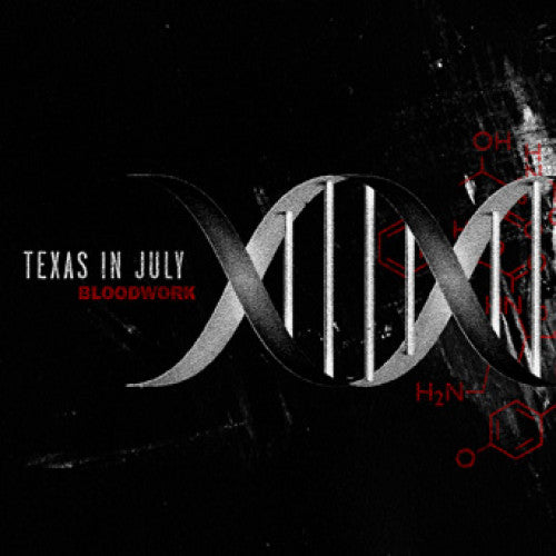 "EVR276-2 Texas In July ""Bloodwork"" CD Album Artwork"