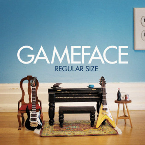 "EVR289-1 Gameface ""Regular Size b/w Mirrors"" 7"" Album Artwork"