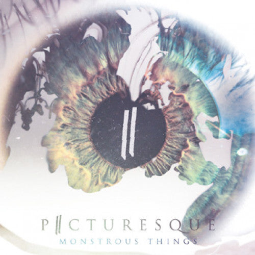 "EVR348-2 Picturesque ""Monstrous Things"" CD Album Artwork"
