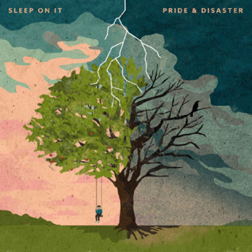 "EVR426-1 Sleep On It ""Pride & Disaster"" LP Album Artwork"