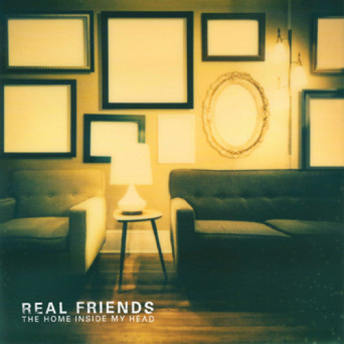 "F39248-1 Real Friends ""The Home Inside My Head"" LP Album Artwork"