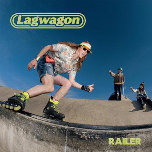 "FAT119 Lagwagon ""Railer"" LP/CD Album Artwork"