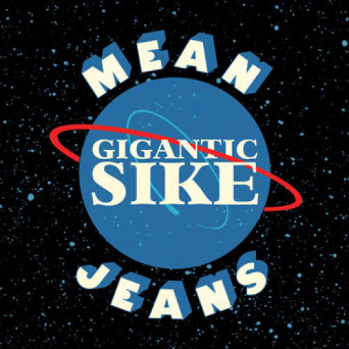 "FAT123-2 Mean Jeans ""Gigantic Sike"" CD Album Artwork"